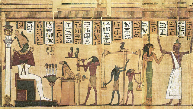 the last judgment of hunefer essay Last judgement of hunefer, from his tomb  to the left, anubis brings hunefer  into the judgement area  we learned in a previous essay that egyptian gods  were painted with a yellow skin color and that living ordinary people were  painted.