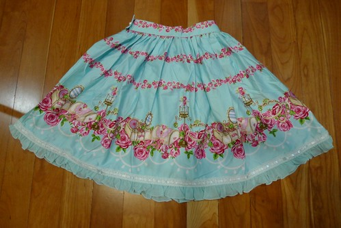Lolita Closet Count! Skirts: Blue - Bodyline Love Jewelry