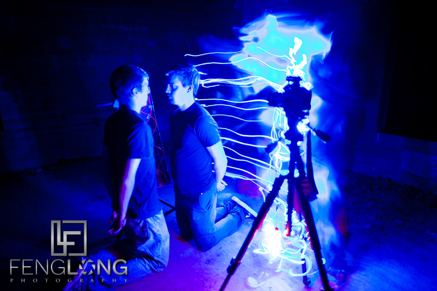 Behind the Scenes Light Painting in Alabama with Dennis Calvert