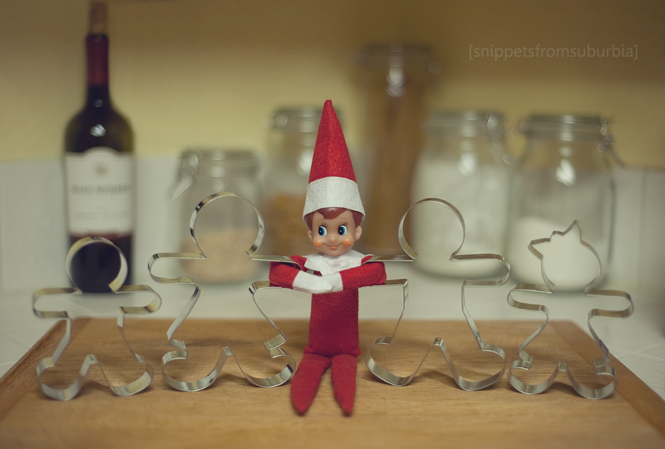Elf on the Shelf, Day 16 and {347/365}