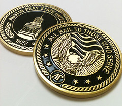 APSU challenge coin