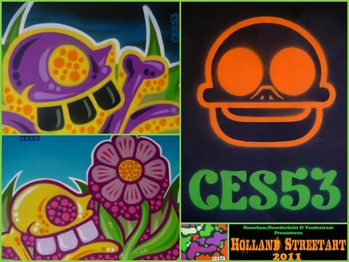 Holland Streetart 2011 - Ces53