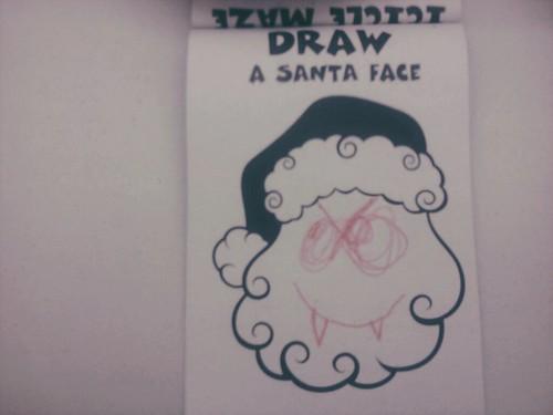 Nels' Concept Of Santa