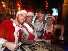 Santas at Foufs