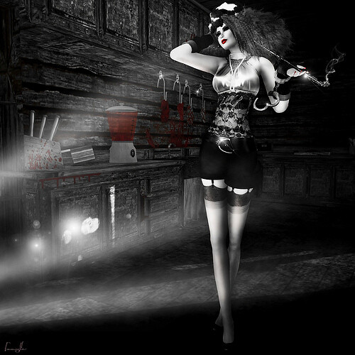 The Fashion Teller- MURDER, My Sweet Casting Contest ENTRY: VelvetOnyx Jewell by Fashion Teller