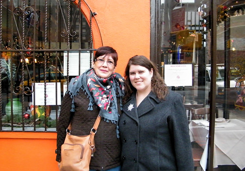 Norma and Katie at Mexico Lindo, NYC by katiemetz, on Flickr