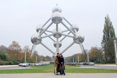 Family picture at the Atomium