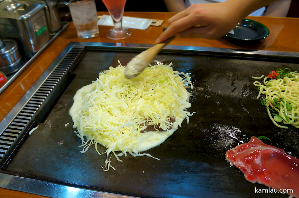 How to make Okonomiyaki – kamlau.com