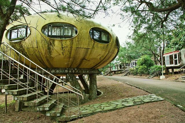 Wanli abandoned Futuro House