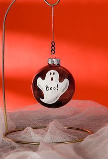 Boo Ornament
