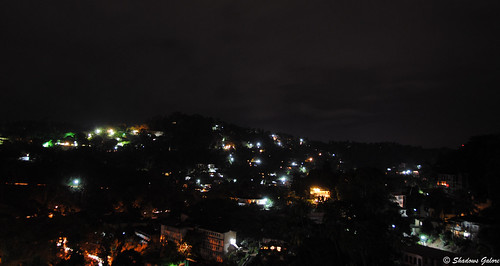 Kandy city at night