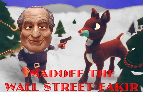 MADOFF THE WALL STREET FAKIR by Colonel Flick/WilliamBanzai7
