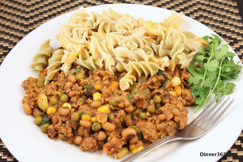 Day 354 - Ground Beef with Pasta
