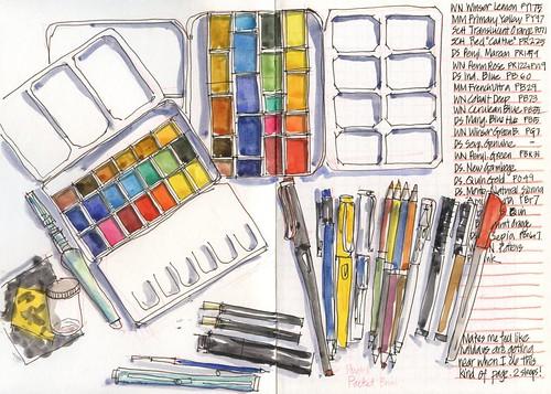 111221 Summer art supplies by borromini bear