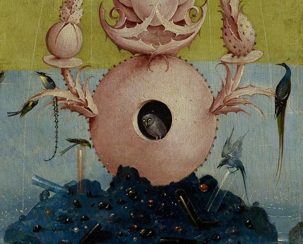 [ B ] Hieronymus Bosch - The Garden of Earthly Delights - Hell (1490 - 1510) - Detail