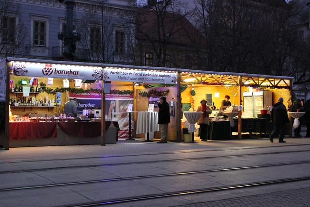 Mercado de Navidad de Debrecen
