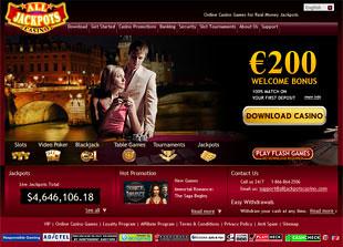 All Jackpots Casino Home
