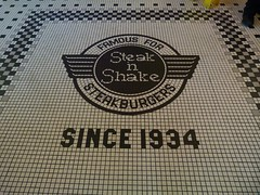 our first visit to steak n shake