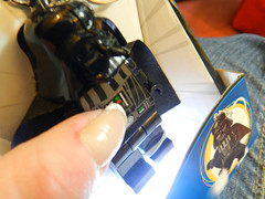 LEGO Darth Vader LED key light - on