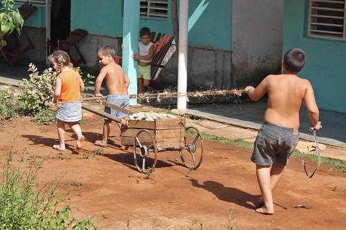 Playing farm