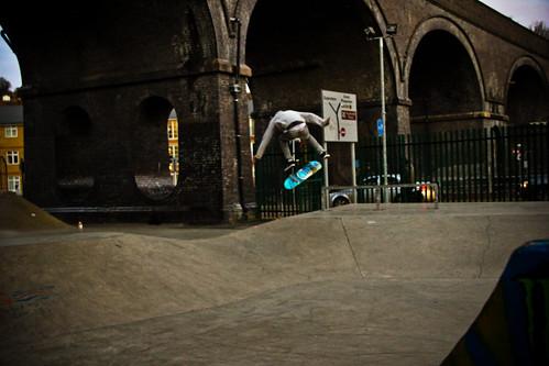 Justin Moore - Backside Flip @ Wycombe Park