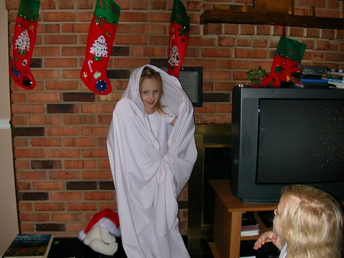 Dec 24 2011 The Nativity Haley the angel