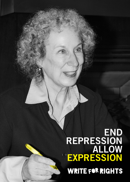 Margaret Atwood - Write for Rights