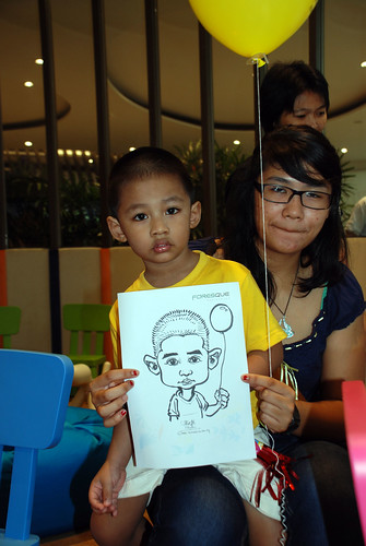caricature live sketching for Forestque Residence (Wing Tai) - Day 1 - 24