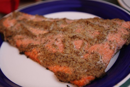 Stout & Stoneground Mustard Roasted Sockeye Salmon