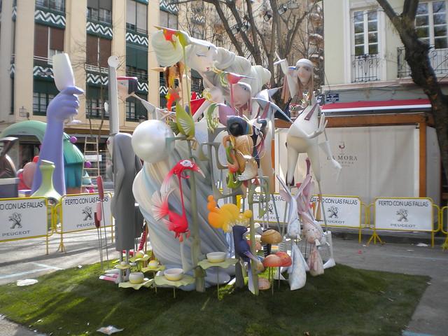 Falla infantil de Valencia