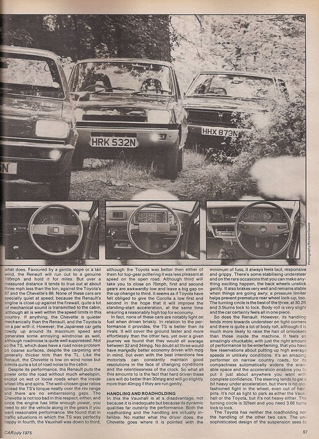 ... Vauxhall Chevette L Group Road Test 1975 (2) | Flickr - Photo Sharing