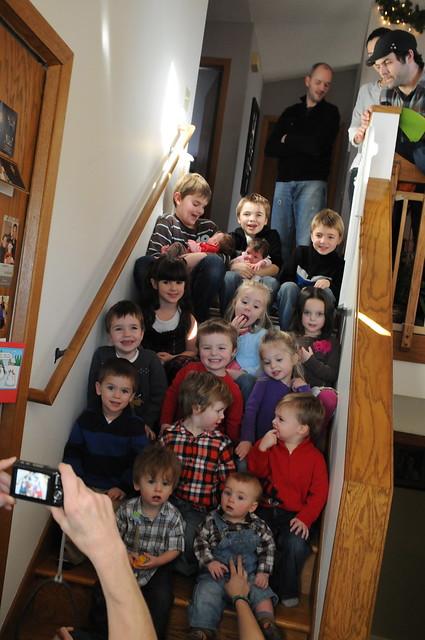 16 Goodman grandkids