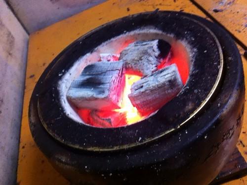 ひょうたんの囲炉裏