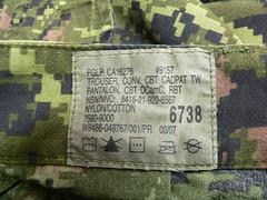 Pantalon CADPAT TW Issued Etiqueta