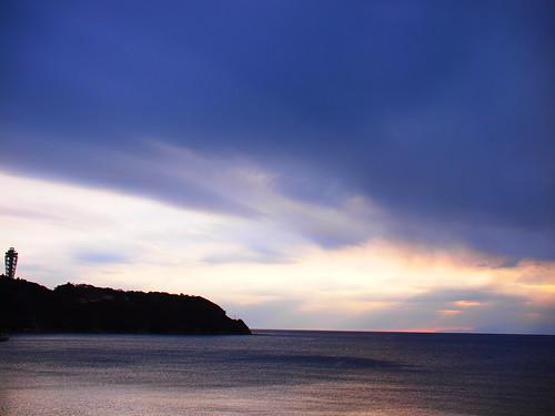 江ノ島 空と海