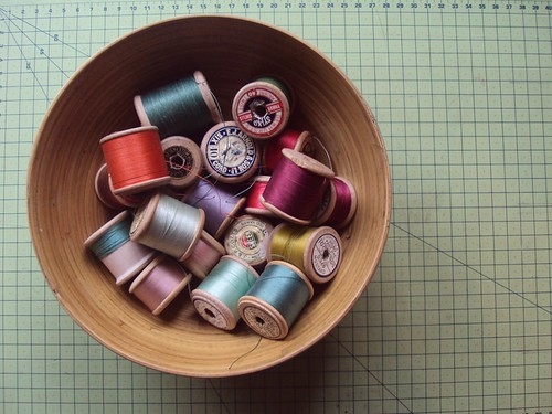 Vintage cotton reels by little_moshi