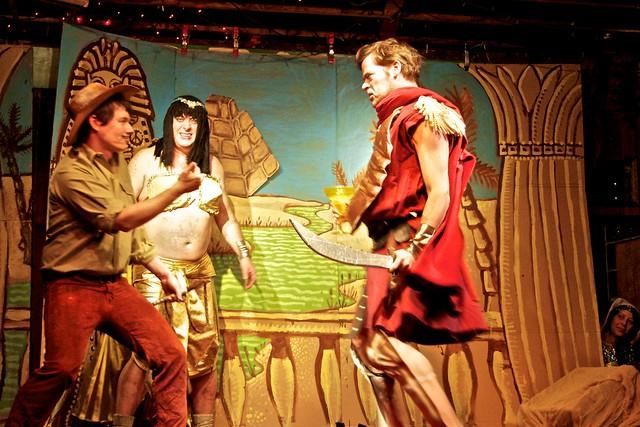 Indy & Antony fight over Cleo