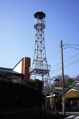 坂之下の火の見櫓(所沢市)