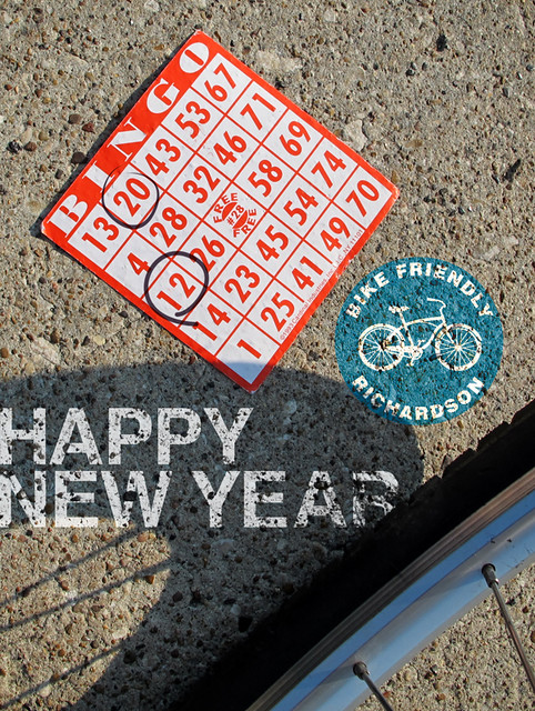 Happy New Year Bike Friendly Richardson