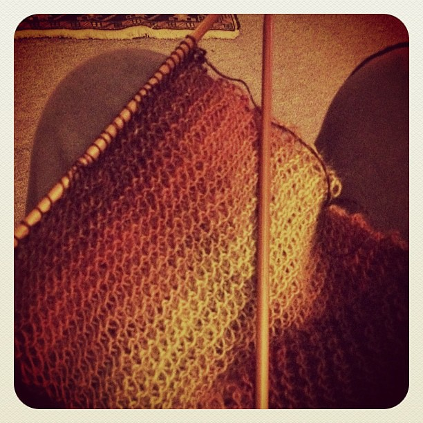 a knitting kind of a day