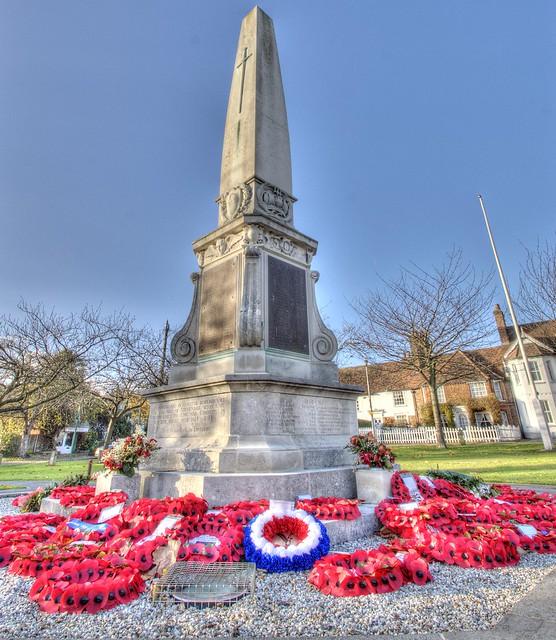 Stevenage war memorial