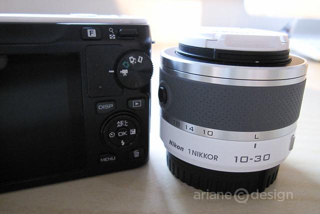 Nikon 1 J1 with 10-30mm lens