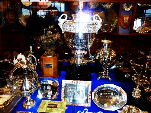 Tropy Cabinet at Rangers F.C.