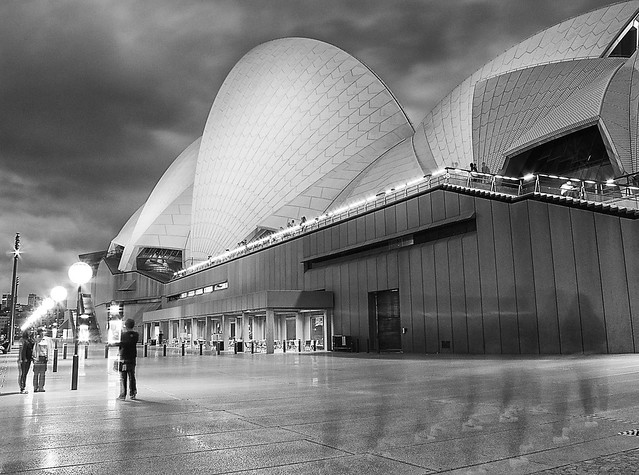 Ghosts at the opera house