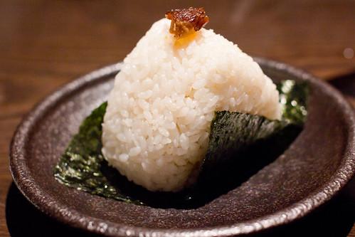 Spicy Char-Siu Onigiri