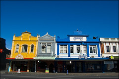 Buildings along Khyber Pass Road, Grafton