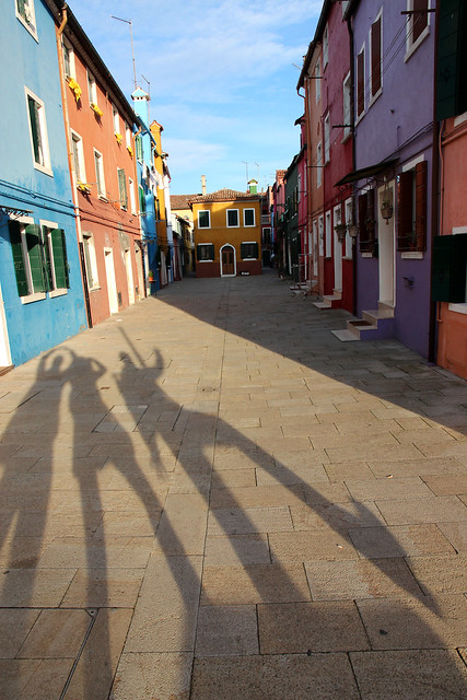 Burano and the long-legged photographers