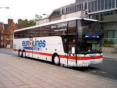 5850 CXF MAN  Van Hool Altano T918.Elizabeth Bridge LONDON 2 (E)
