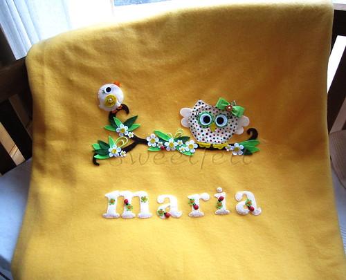 ♥♥♥  Mantinha da Maria... by sweetfelt \ ideias em feltro