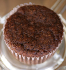 Natural, Gluten-Free, Chocolate Oat Bran Muffin